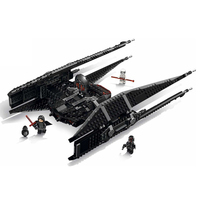 705 Pcs Star Wars Episode VIII Kylo Ren's Tie Fighter Building Blocks Star Wars Figures Bricks 75179 Model Toys