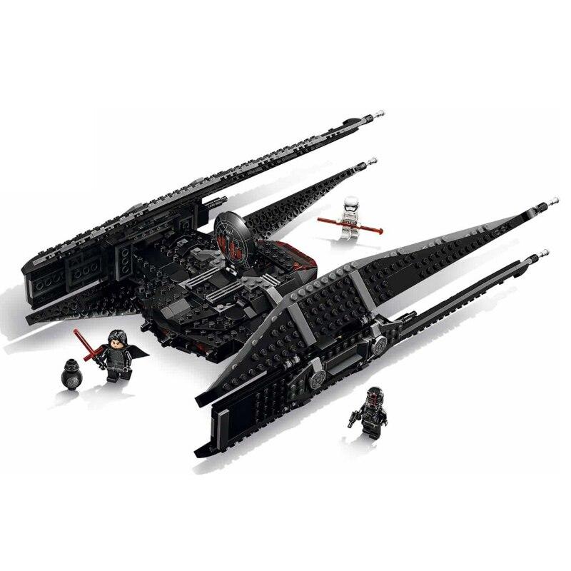 705 pièces Star Wars épisode VIII Kylo Ren cravate combattant blocs de construction Legoings Star Wars figurines briques 75179 modèle jouets