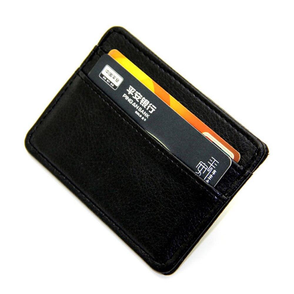 1 Pcs Neue Freigegeben Upgrade Version Karte Halter Schlanken Bank Kreditkarte Id Halter Fall Tasche Brieftasche Halter Geld Größe: 12*7 Cm