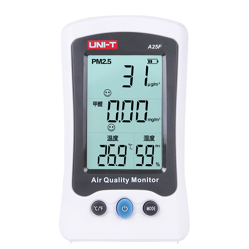 Indoor Air Quality Detector UNI-T A25F+ Formaldehyde PM2.5 Monitor Meter Laser Temperature Humidity for Outdoor Environmental handheld laser portable high quality indoor air quality detector page 8