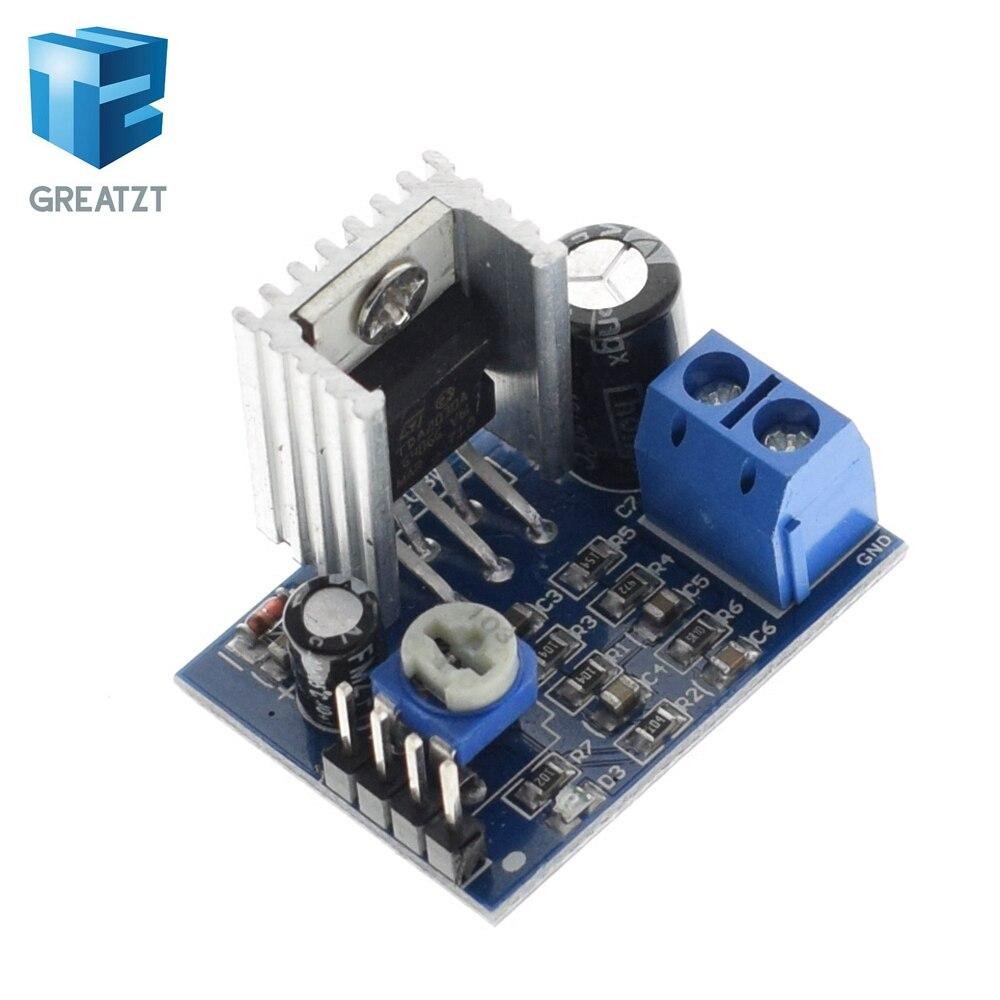Tzt Tda2030 Module Power Supply Audio Amplifier Board 400w Schema And Layout Greatzt Tda2030a 6 12v Single
