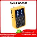 Satlink ws6909 3.5 ''DVB-S & DVB-T Combo Sinal Localizador satlink ws-6909 satlink 6909 Satélite & sathero localizador de medidor De Sinal Terrestre