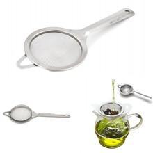 Кухонный инструмент сито ложка Чайный фильтр Классическая длинная ручка из нержавеющей стали кухонный инструмент мини проволочная сетка Традиционный Чайный фильтр