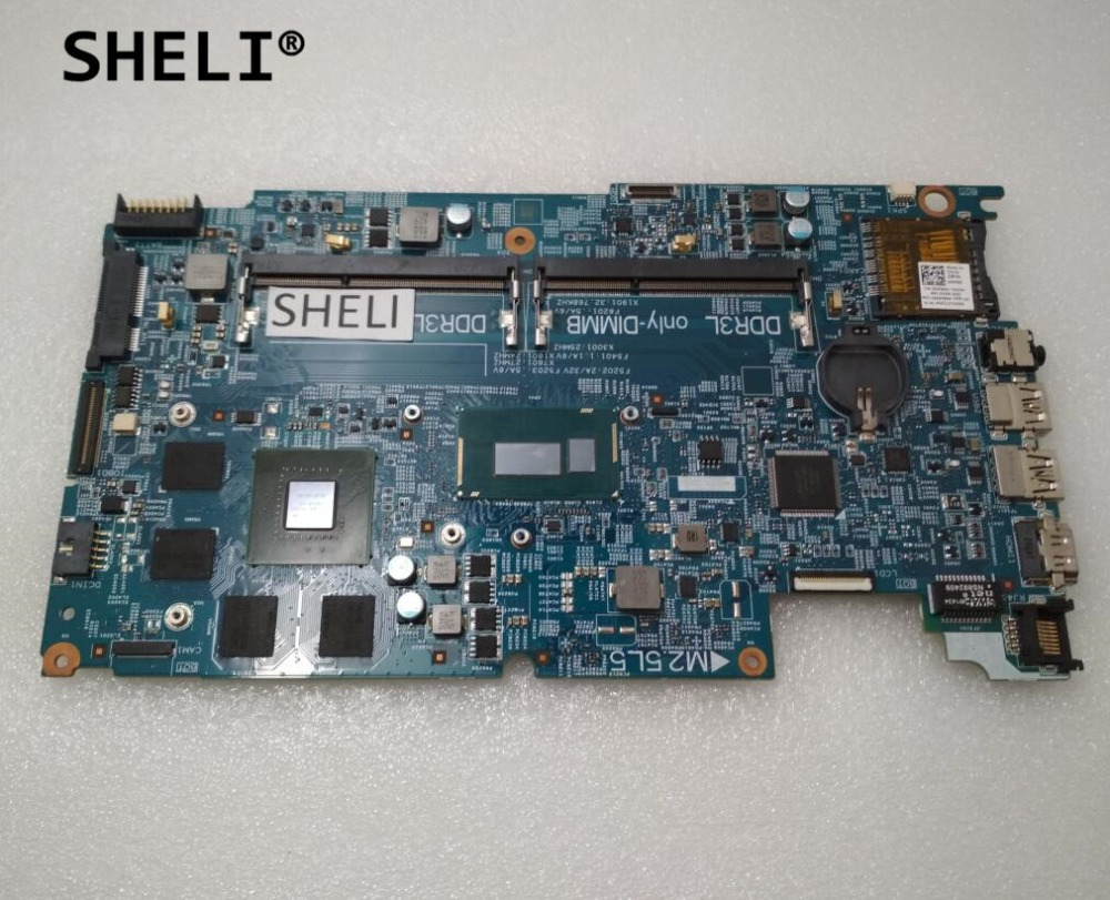 SHELI CN-05GRP2 05GRP2 5GRP2 For DELL 15 7537 Motherboard With I7-4510U GT750M 2G