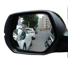 Car Rear View Mirror Auto Blind Spot Mirror 360 Degree Wide Angle Round Convex Truck Motorcycle Side Rear Parking Safety