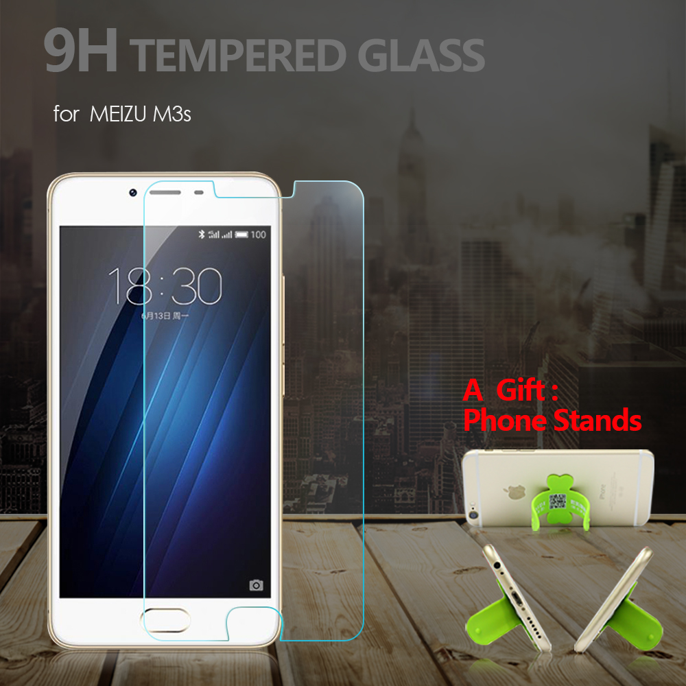 Tempered Glass Screen Protector for MEIZU M3s Glass Film 9H 2.5D 0.33mm Anti Scrach Clear Protective Glass Film For Meizu M3S