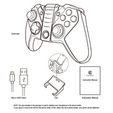 GameSir G4 Bluetooth USB Wired Controller for Android Smart Phone TV BOX Tablet VR Games,