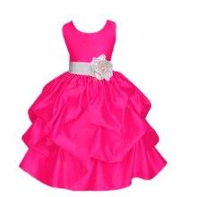 цены на New pattern children Sleeveless Bow Full dress Flower Wedding Flower Girl Dress christmas spring autumn 3-10 year  в интернет-магазинах