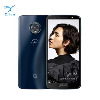 "Motorola Moto Green Pomelo 1S XT1925 Smartphone 5.7"" 18:9 IPS 4GB RAM 64GB ROM Snapdragon 450 Octa Core Fingerprint 3000mAh 1"