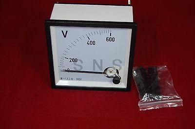 Analog 96X96 Voltage Analogue Panel meter Directly connnected цена