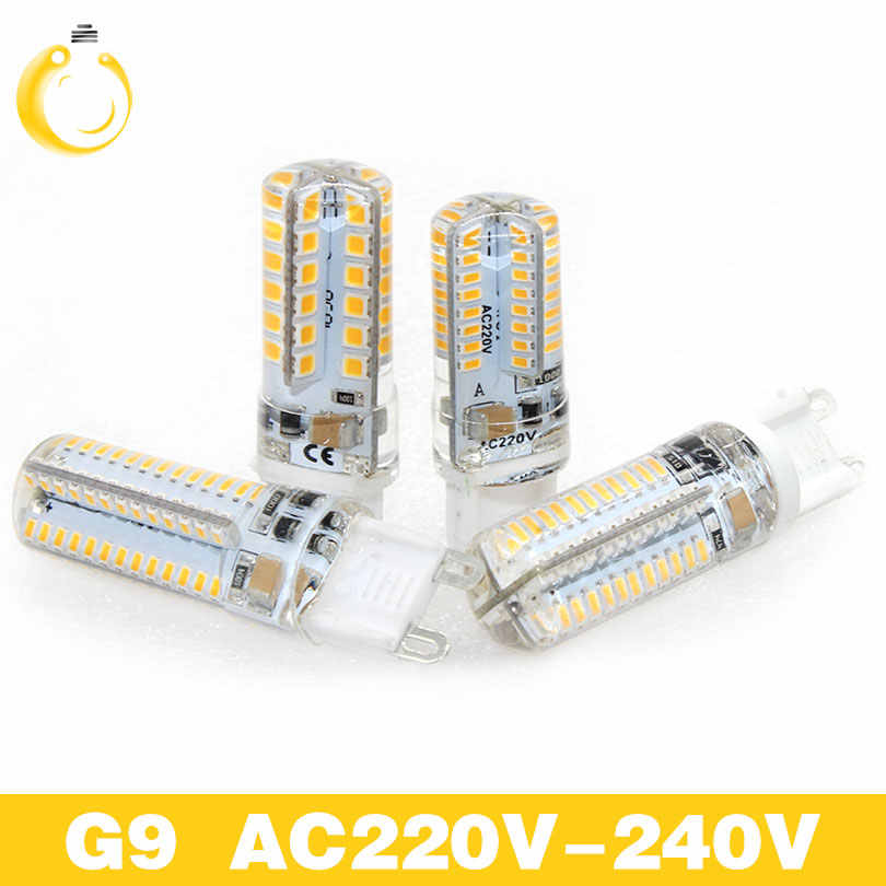 Lowest price G4 G9 LED Bulb SMD 2835 3014 AC220V led 3W 7W 9W 12W Lampada LED light corn bulb 360 degrees Replace G4 G9 Halogen