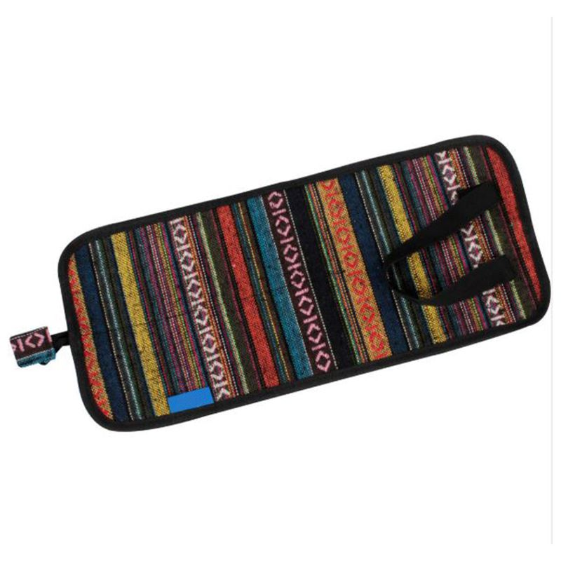 Waterproof Folk Drum Stick Holder Bag Case Capacity 4pairs Drumsticks Handy Strap Percussion
