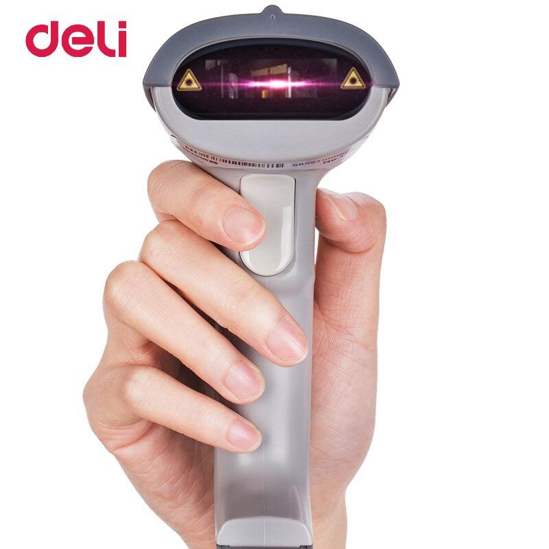 Балык проводной USB сканер штрих-кода высокая производительность 1D лазерный штрих-кодов для POS Системы супермаркет Поддержка Android/iOS /Windows