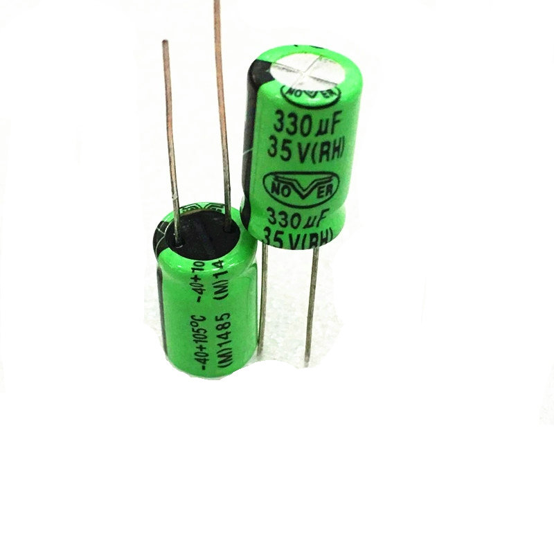10pcs high quality 35V330UF High frequency and low resistance    Electrolytic capacitor 330UF 35V 10X16MM 10pcs high quality 25v68uf high frequency and low resistance long life electrolytic capacitor 68uf 25v 5x11