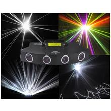 900 mW led laser stage iluminação cabeça 4 4 túneis encher nos a luz principal cor branca 6 cores a laser efeitos feixe de luz laser
