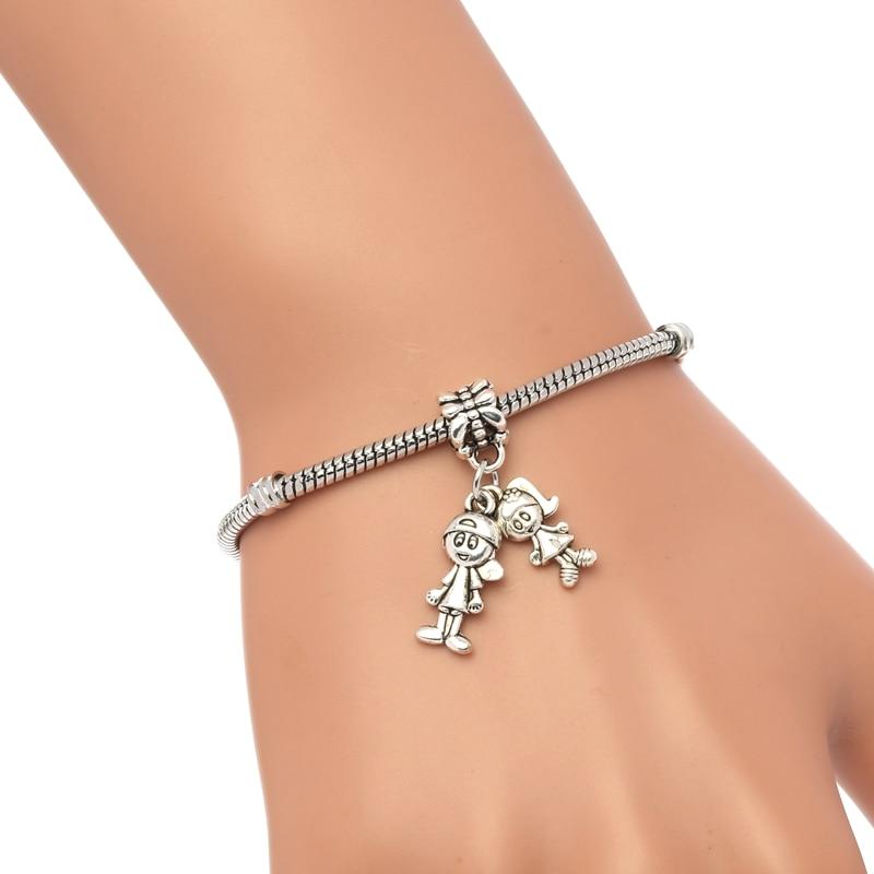 Wave Child Fashion Men's Snake Chain Bracelet 1pcs Silver Bos