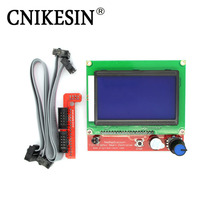 CNKESIN 3D Printer Smart Controller RAMPS 1.4 LCD 12864 Control Panel Blue Screen