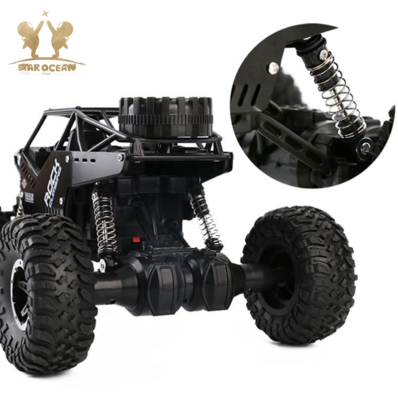 Image 2 - Rock Crawlers Driving Car Remote Control Off road Toys 4WD On The Radio Controlled 4x4 Drive Electric RC Cars Summer Holiday-in RC Cars from Toys & Hobbies