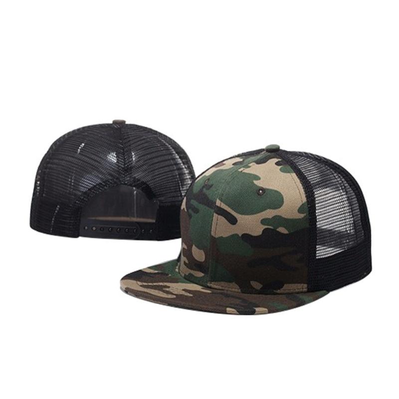Women Men Adjustable Baseball Tennis Caps Mesh Breathable Snapback Flat Sun Hats Hip Hop Patchwork Sports Caps New