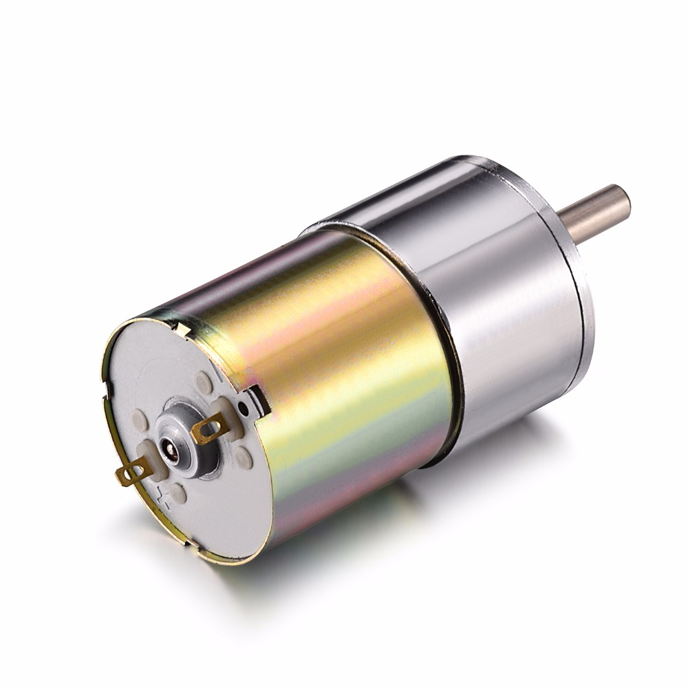 цена на Uxcell(R) 1Pcs 12V DC 40RPM Gear Motor High Torque Electric Micro Speed Reduction Geared Motor Eccentric Output Shaft