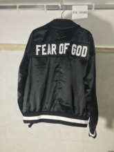 FEAR OF GOD Fifth Collection BIEBER street brand Clothes Clothing Mens jackets kanye west hiphop streetwear Women Men jacket