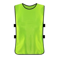 Adult Children Kid Team Sports Football Soccer Training Pinnies Jerseys Quick dry Breathable Training Bib Vest
