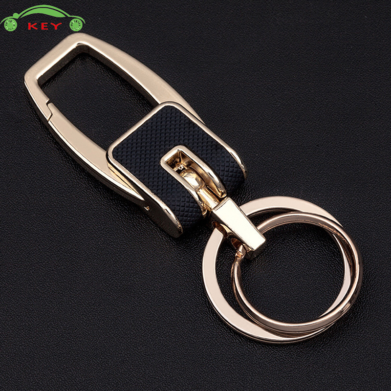 High End Car Metal Keychain Auto Men Keyring Luxury Key Chain For