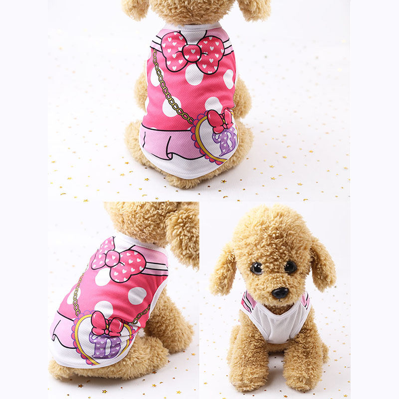 Cheap Dog Vest Summer Pet Clothes For Dogs Cat Vest Shirt Clothing For Dogs Costume Small Medium Dog Clothes Chihuahua Yorkshire #3