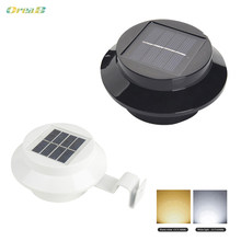 Oreab Tree Solar Panel Outdoor Wall Lights Garden Wireless Mini Step Lights Light Control(China)