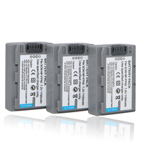3pcs Lot NPFP50 NP FP50 Rechargeable Battery NP FP50 Camera Batteries For Sony NP FP30 NP