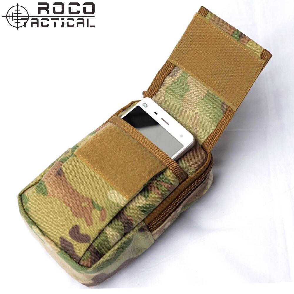 """Prix pour ROCOTACTICAL Hommes Molle Tactique Taille Packs EDC Portable Militaire Sports de Plein Air Sac de Taille Pour 5.5 """"Téléphone Intelligent"""
