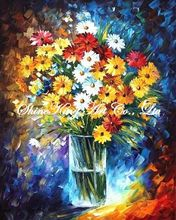 palette knife oil painting  modern oil painting canvas oil painting  K667