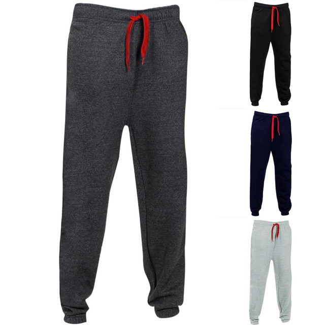 2019 High Quality Jogger Pants Men Fitness Bodybuilding Gyms Pants For  Runners Brand Clothing Autumn Sweat Trousers Britches D25 52cef36ba6f