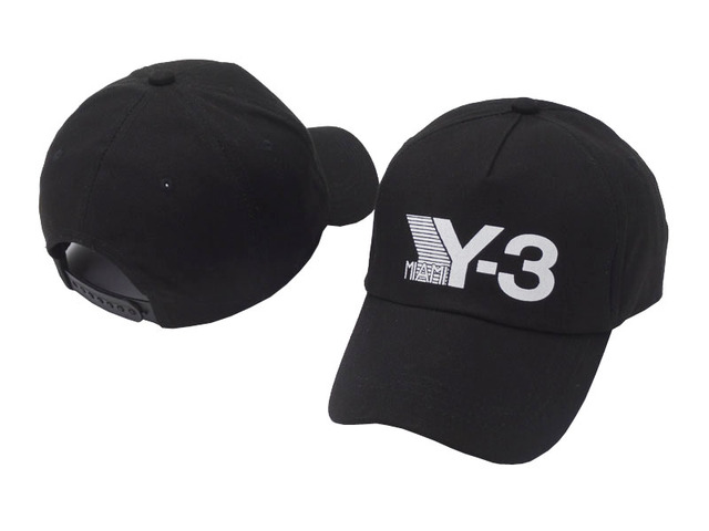 5fbc44bfbf3 2018 New fashion style Y-3 Dad Hat Big Bold Embroidered Logo Hip Hop  Baseball