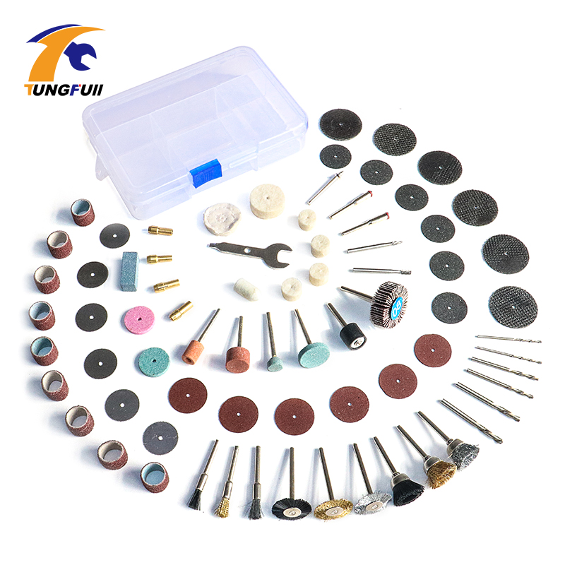 Tungfull Abrasive Cutting Disc 75Pcs Wood Metal Engraving Electric Rotary Tool Accessory for Dremel Accessories Polishing 1pc white or green polishing paste wax polishing compounds for high lustre finishing on steels hard metals durale quality