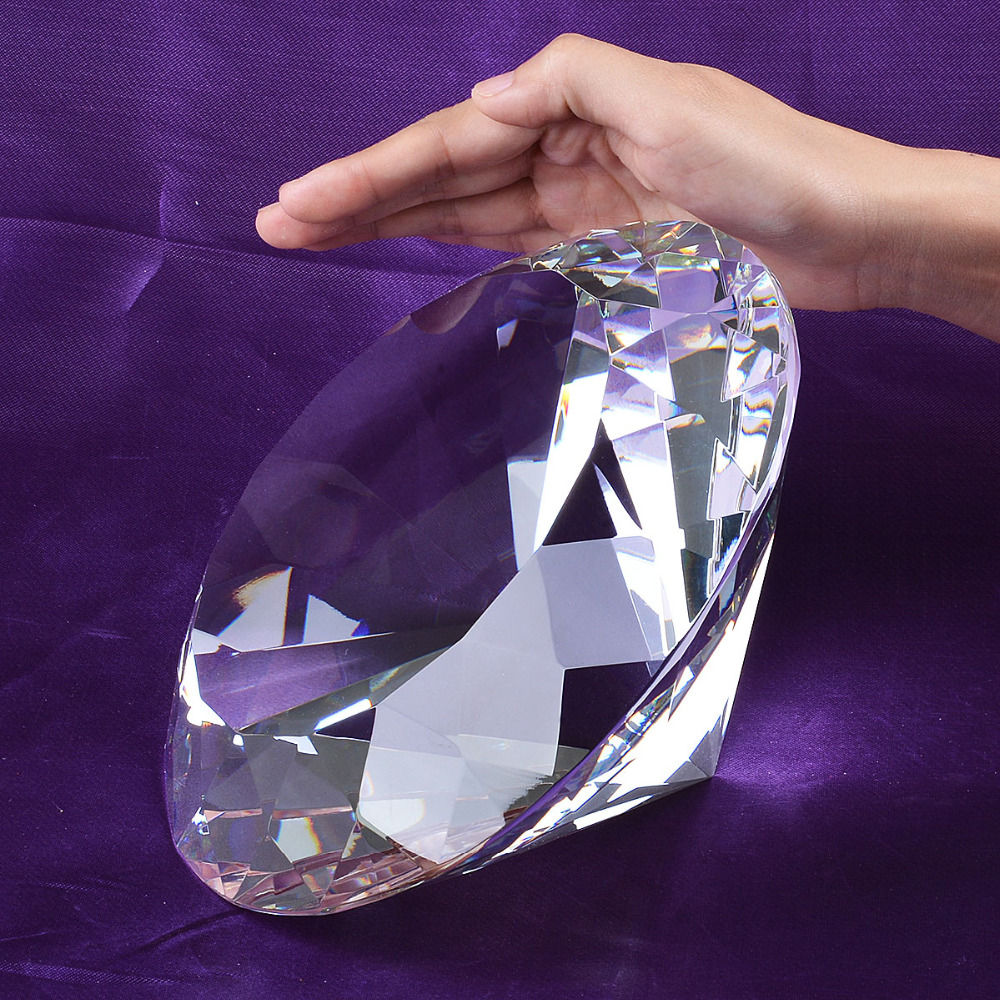 Aliexpress buy stock in usa warehouse clear large crystal aliexpress buy stock in usa warehouse clear large crystal diamond 200mm wedding decoration centerpieces unique gifts from reliable diamond large junglespirit Choice Image