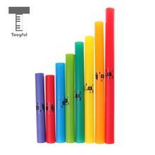 Tooyful Изысканный Красочные 8 тонов C Основной диатонической весы Комплект ударный инструмент трубы Дети подарочная музыкальная игрушка