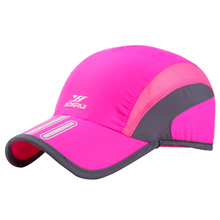 outdoor printing  hat summer sunscreen quick-drying cap soft and breathable Outdoor running sports visor 8