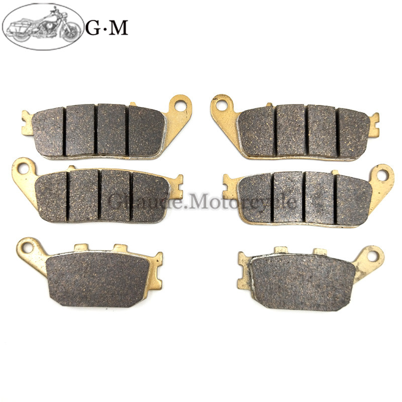 Rear Brake Pads For Honda Cbf600n 08-11 Cbf600s 04-06 08-09 Non Abs/cbf600na Cbf600sa 2004-2006 Abs Model Providing Amenities For The People; Making Life Easier For The Population Motorbike Brakes Automobiles & Motorcycles Motorcycle Front