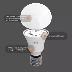 Image 3 - Xiaomi Yeelight LED Lamp Koud Wit 25000 Uur Levensduur 5W 7W 9W 6500K E27 Lamp Licht lamp 220V voor Plafond Lamp/Tafellamp