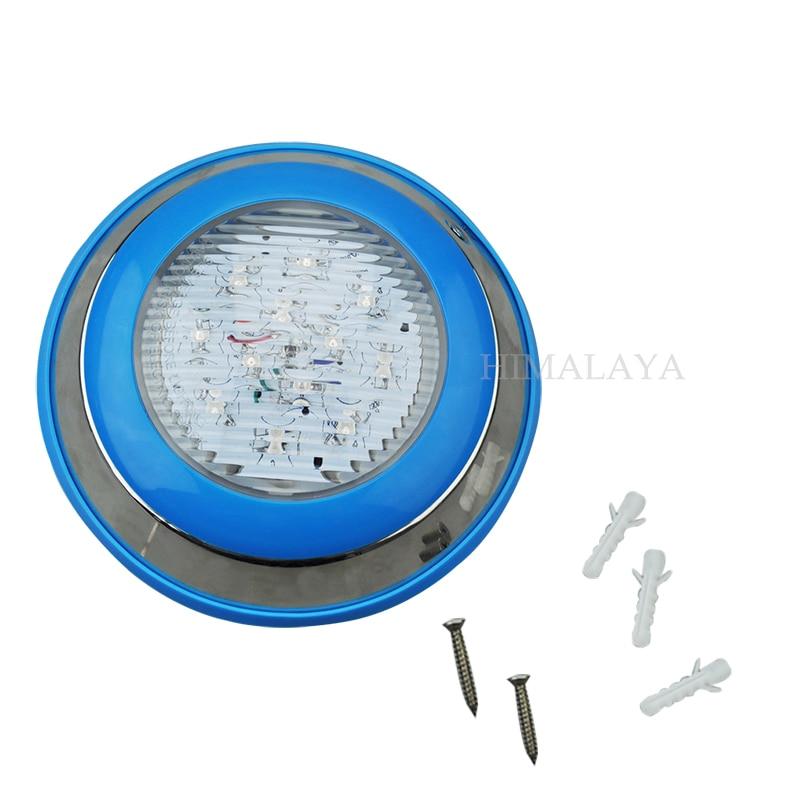 Toika Toika 10pcs Swimming pool light 9W12W15W18W DC 12V RGB IP68 remote control underwater Lamp Outdoor Lighting