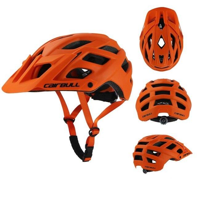 2018 novo cairbull ciclismo capacete trail xc bicicleta capacete in-mold mtb bicicleta capacete casco ciclismo estrada capacetes de montanha boné de segurança 2