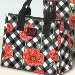 Joann Marrie Designs P2LBPC Polypropylene Poppy Chic Lunch Bag - Assorted Color
