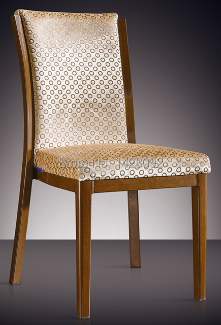 quality modern wood imitated aluminum restaurant chair LQ-L7623