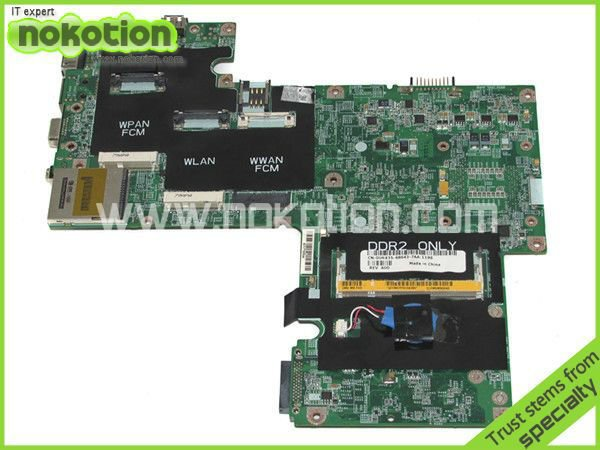 laptop motherboard for DELL INSPIRON 1720 series 0UK435 INTEL 956PM NVIDIA GeForce 8600M GT DDR2 Mainboard 100% full tested for dell inspiron series n5110 motherboard mainboard g8rw1 tested free shipping