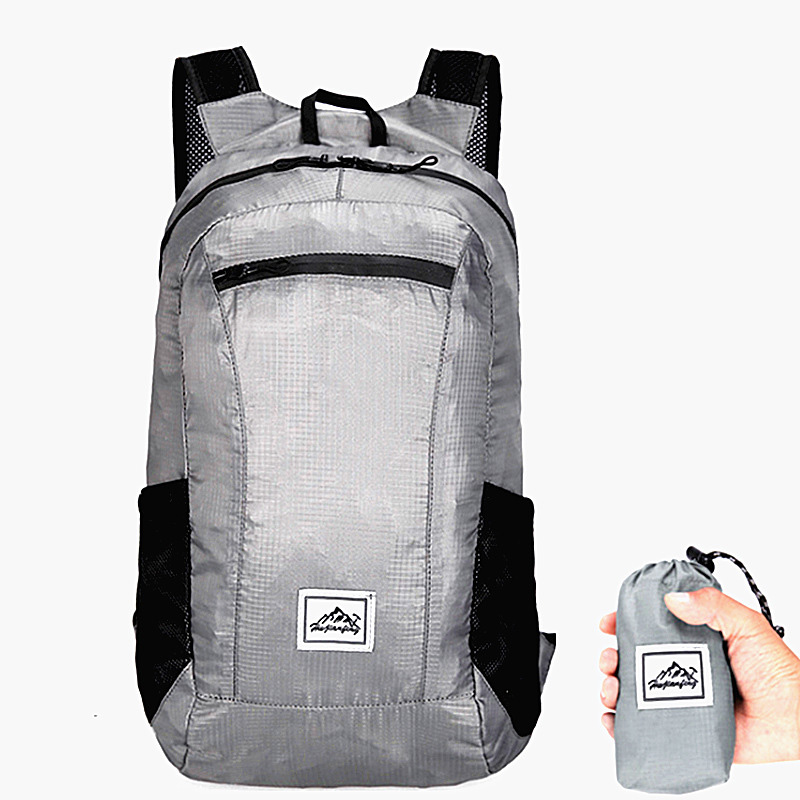 20L Portable Folding Backpack Men Ultralight Waterproof Backpack For Women Outdoor Travel Hiking Pack Shopping Foldable Backpack