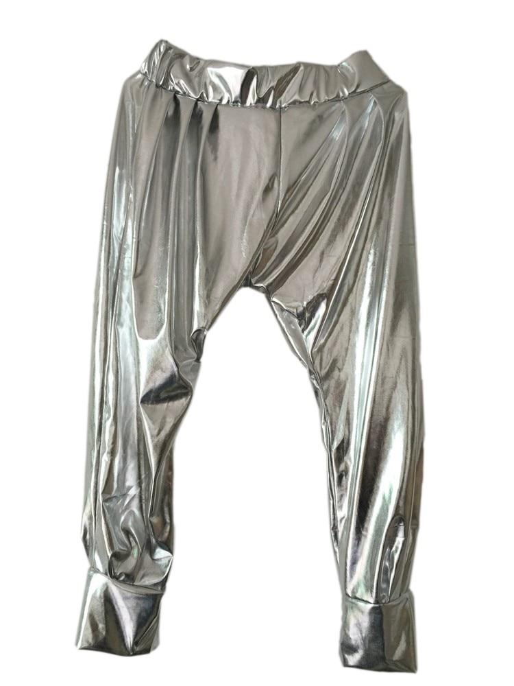 Új divat Sweatpants Paillette jelmezek női ruházat spliced - Női ruházat - Fénykép 2
