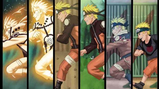 Animation Naruto Poster Shippuden Art Silk Fabric Poster 36 x 24