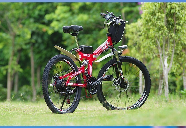 HTB18c Ga.uF3KVjSZK9q6zVtXXaF - Inch Folding Electrical Bicycle Electrical Bicycle 48 V Lithium Battery Off Street Mountain Bike 500w Motor Drive Electrical Bicycle
