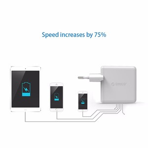 Image 5 - ORICO QC2.0 Fast Charger Dual Port Wall Charger 36W Mobile Phone USB Charger Adapter for iPhone Samsung Xiaomi Huawei Htc